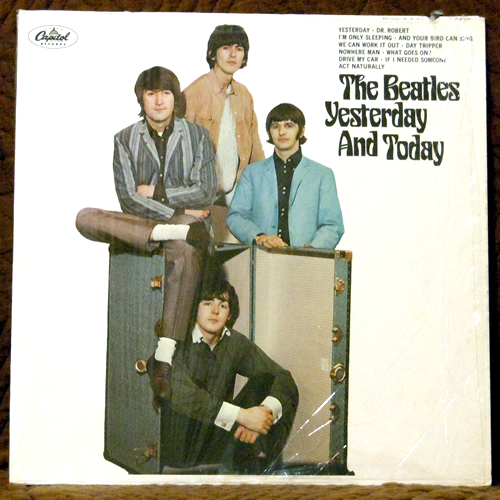 beatles yesterday and today butcher vinyl records value